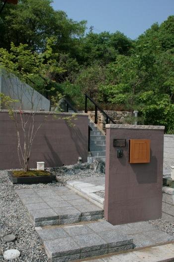 愛知県瀬戸市 和モダンなアプローチ工事施工実績