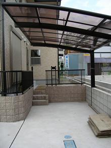 愛知県春日井市 駐車場・カーポート工事施工実績