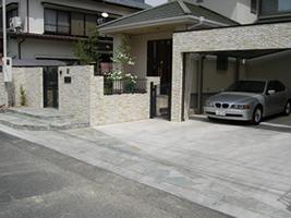 愛知県春日井市 駐車場 カーポート工事施工実績