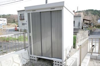 岐阜県土岐市W様邸物置設置工事施工実績