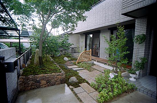 岐阜県多治見市 K様邸和風庭園施工例
