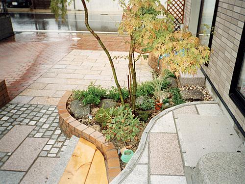 岐阜県多治見市 H様邸洋風庭園エクステリア施工例