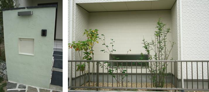 岐阜県土岐市あいもく様モデルハウス外構工事 施工実績