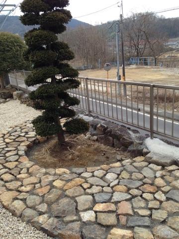 土岐市 庭づくり 石積み