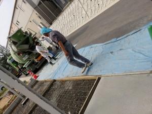 多治見 駐車スペース 工事