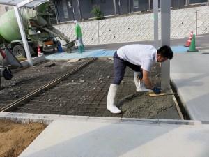 コンクリート 職人技