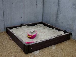 砂場 エクステリア