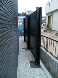 多治見 フェンス 設置