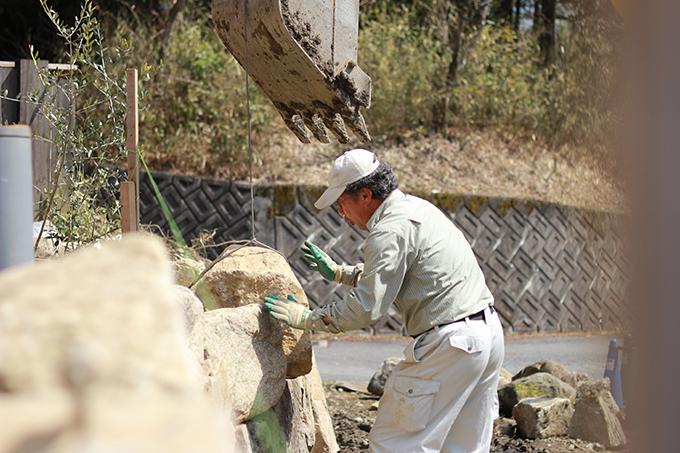 土岐市曽木店舗ガーデン工事