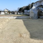 芝張り・土間コンクリート打ちの準備がされた現場を見てきました!