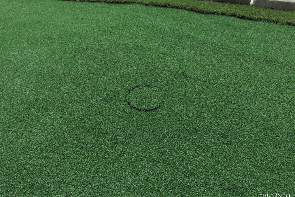 人工芝ゴルフホール