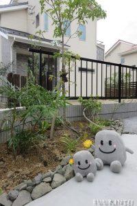 植栽スペース,ころんちゃん